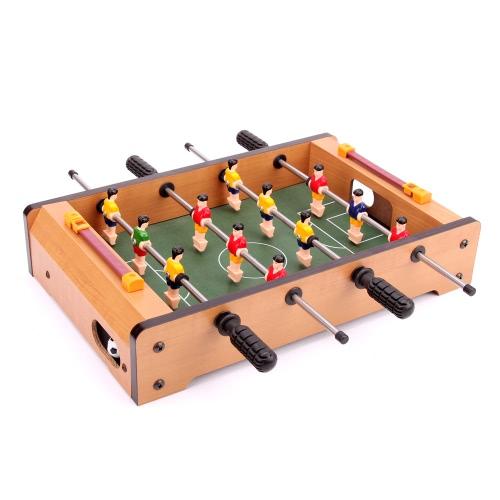 34 * 22 * 7cm HUANGGUAN TOYS HG25 Mini Foosball Table Soccer Football Table Family Use Game