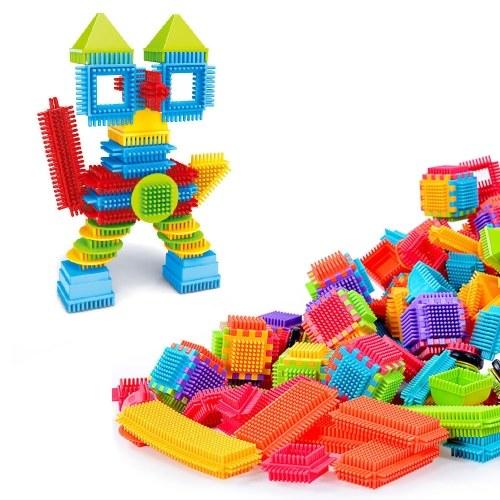 Juego de ladrillos de juguete educativo de bricolaje