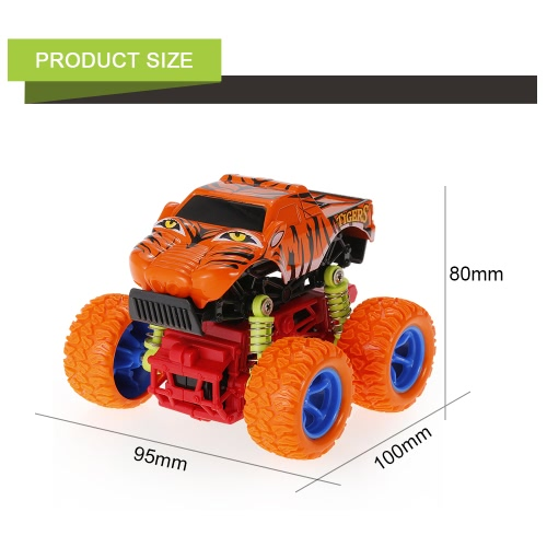 1:34 Animal Inertia Car Toy Off-Road Car 4WD Alloy Big Wheels Shock Resistant Inertia Vehicle Colorful Friction Powered Car ToyToys &amp; Hobbies<br>1:34 Animal Inertia Car Toy Off-Road Car 4WD Alloy Big Wheels Shock Resistant Inertia Vehicle Colorful Friction Powered Car Toy<br>