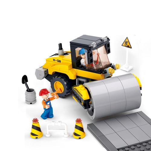 Sluban M38-B0539 171pcs Single Steel-Wheeled Street Roller Building Block Construction Toy for KidsToys &amp; Hobbies<br>Sluban M38-B0539 171pcs Single Steel-Wheeled Street Roller Building Block Construction Toy for Kids<br>