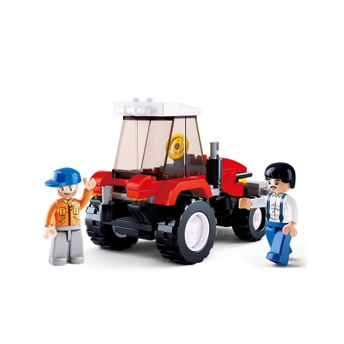 Sluban M38-B0556 103pcs Town Tractor Building Block Construction Toy for KidsToys &amp; Hobbies<br>Sluban M38-B0556 103pcs Town Tractor Building Block Construction Toy for Kids<br>