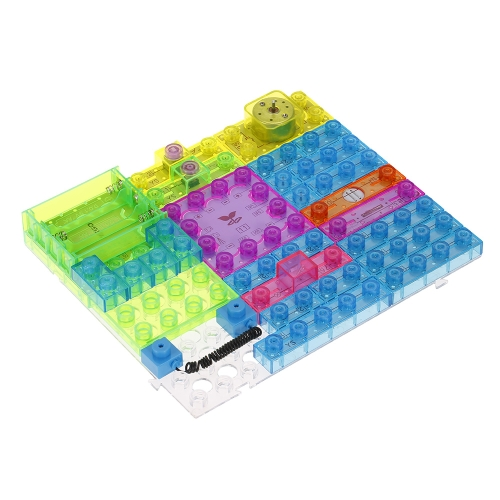 120 Projects Integrated Circuit Electronic Building Blocks FM Radio Physics Educational Toys for KidsToys &amp; Hobbies<br>120 Projects Integrated Circuit Electronic Building Blocks FM Radio Physics Educational Toys for Kids<br>