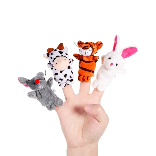 12pcs Animal Finger Puppet Cute Cartoon Plush Toys Finger Doll Baby Early Educational ToysToys &amp; Hobbies<br>12pcs Animal Finger Puppet Cute Cartoon Plush Toys Finger Doll Baby Early Educational Toys<br>