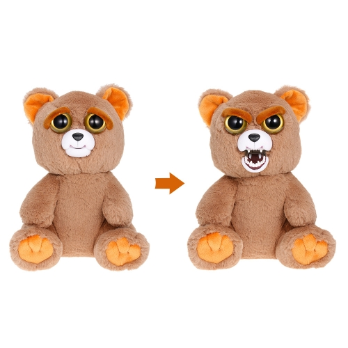 Feisty Pets Sir Growls-A-Lot Feisty Films Adorable Plush Stuffed Toy Bear Turns Feisty with a SqueezeToys &amp; Hobbies<br>Feisty Pets Sir Growls-A-Lot Feisty Films Adorable Plush Stuffed Toy Bear Turns Feisty with a Squeeze<br>