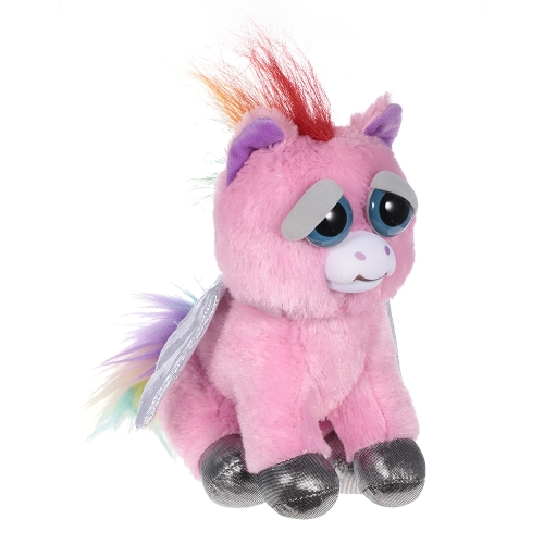 Feisty Pets Sparkles Rainbowbarf Adorable Plush Stuffed Pegasus Turns Feisty with a SqueezeToys &amp; Hobbies<br>Feisty Pets Sparkles Rainbowbarf Adorable Plush Stuffed Pegasus Turns Feisty with a Squeeze<br>