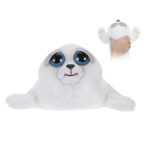 Feisty Pets Tony Tubbalard Feisty Films Adorable Plush Stuffed Toy Harp Seal Pup Turns Feisty with a SqueezeToys &amp; Hobbies<br>Feisty Pets Tony Tubbalard Feisty Films Adorable Plush Stuffed Toy Harp Seal Pup Turns Feisty with a Squeeze<br>