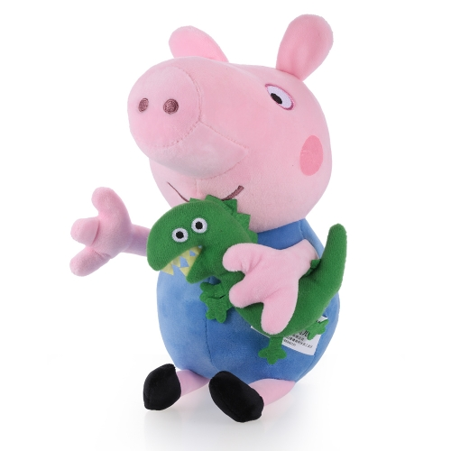Original Brand Peppa Pig 30cm Brother George Stuffed Plush Toy Family Party Doll Christmas New Year Gift for KidsToys &amp; Hobbies<br>Original Brand Peppa Pig 30cm Brother George Stuffed Plush Toy Family Party Doll Christmas New Year Gift for Kids<br>