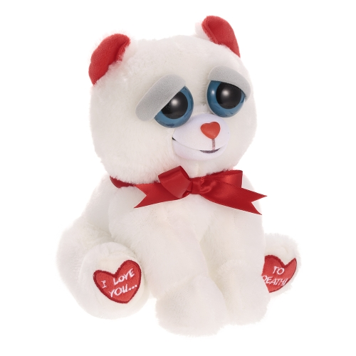 Feisty Pets Bear Taylor Truelove Feisty Films Adorable Plush Stuffed Toy Turn Feisty with a Squeeze Special Valentines GiftToys &amp; Hobbies<br>Feisty Pets Bear Taylor Truelove Feisty Films Adorable Plush Stuffed Toy Turn Feisty with a Squeeze Special Valentines Gift<br>