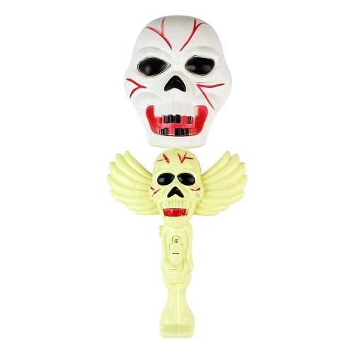Glowing Skull Ghost Magic Wand Shake Stick