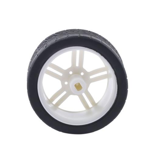 1 Pcs DIY Toy Mini Plastic Wheel Tire