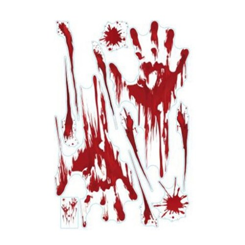 Simulation Bloody Footprints Handprints