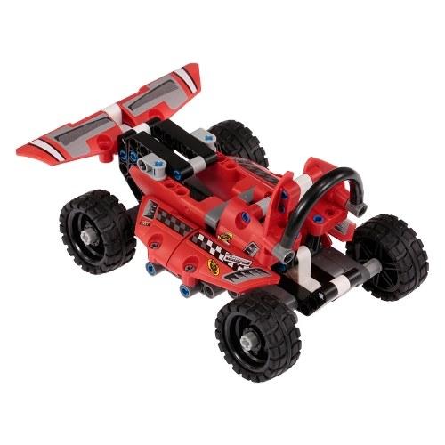 150pcs DIY гонки спортивные автомобили модели здания игрушки