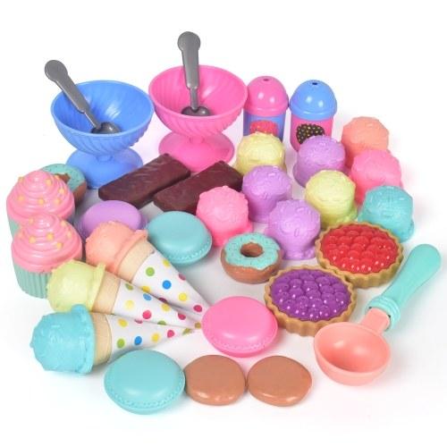 Juego de juguetes de 33 piezas Play House Kitchen Food