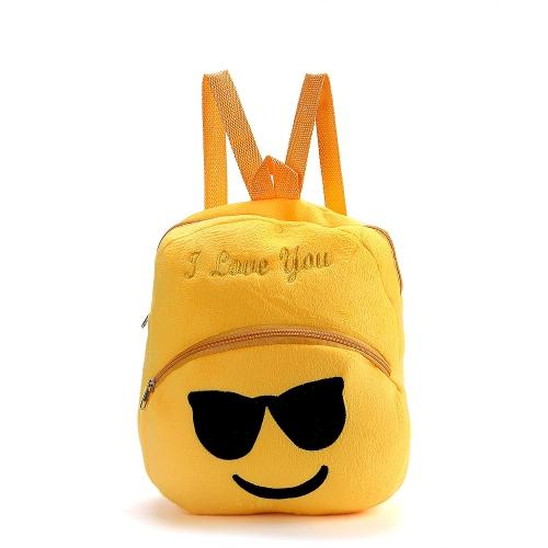 Cute Emoji Emoticon Shoulder Bag Lovely School Child Bag Plush Toy Backpacks Satchel Rucksack Schoolbag Gifts for Boys Girls KidsToys &amp; Hobbies<br>Cute Emoji Emoticon Shoulder Bag Lovely School Child Bag Plush Toy Backpacks Satchel Rucksack Schoolbag Gifts for Boys Girls Kids<br>