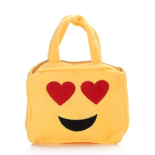 Cute Emoji Face Emoticon Shoulder Bag Schoolbag Children Villus Plush Toy Handbag School Bag Purse Satchel for Kids Girls Boys GifToys &amp; Hobbies<br>Cute Emoji Face Emoticon Shoulder Bag Schoolbag Children Villus Plush Toy Handbag School Bag Purse Satchel for Kids Girls Boys Gif<br>
