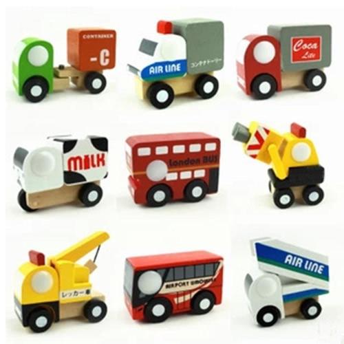12 Pcs Wooden Car 1 Toys Mini Car Model Vehicle Set Classic Construction Team Educational Toys for KidsToys &amp; Hobbies<br>12 Pcs Wooden Car 1 Toys Mini Car Model Vehicle Set Classic Construction Team Educational Toys for Kids<br>