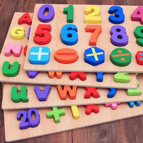 Two Types of Wooden Number Peg Puzzle Board Hand Knob Peg Puzzle Wooden Chunky Puzzle Early Educational Toys for KidsToys &amp; Hobbies<br>Two Types of Wooden Number Peg Puzzle Board Hand Knob Peg Puzzle Wooden Chunky Puzzle Early Educational Toys for Kids<br>