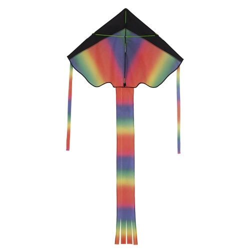 Ametoys 206cm*110cm Large Size Huge Rainbow Kite with 50m Line Delta KiteToys &amp; Hobbies<br>Ametoys 206cm*110cm Large Size Huge Rainbow Kite with 50m Line Delta Kite<br>
