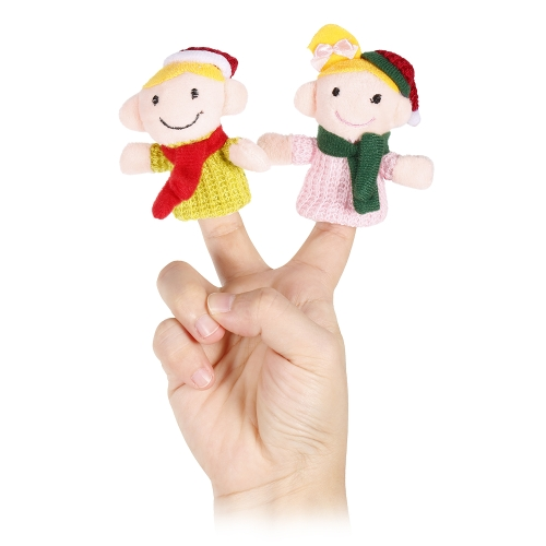 6pcs Finger Puppet Cute Cartoon Christmas Family Plush Toys Finger Doll Child Christmas Gift ToysToys &amp; Hobbies<br>6pcs Finger Puppet Cute Cartoon Christmas Family Plush Toys Finger Doll Child Christmas Gift Toys<br>
