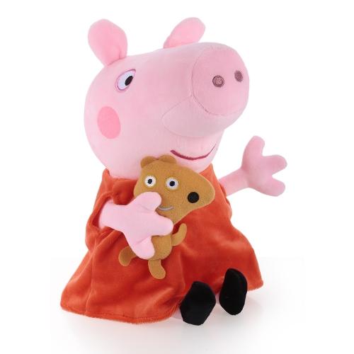 Original Brand Peppa Pig 30cm Peppa Stuffed Plush Toy Family Party Doll Christmas New Year Gift for KidsToys &amp; Hobbies<br>Original Brand Peppa Pig 30cm Peppa Stuffed Plush Toy Family Party Doll Christmas New Year Gift for Kids<br>