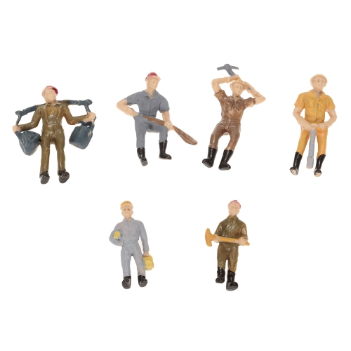 50Pcs 1:30 Scale Painted Model People Train Passengers FiguresToys &amp; Hobbies<br>50Pcs 1:30 Scale Painted Model People Train Passengers Figures<br>
