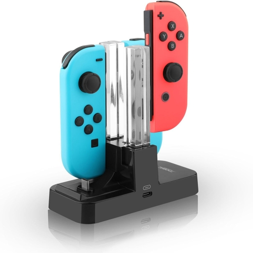 4 in 1 Charging Dock with Type C Cable for N-Switch Joy-Con and Pro ControllerToys &amp; Hobbies<br>4 in 1 Charging Dock with Type C Cable for N-Switch Joy-Con and Pro Controller<br>
