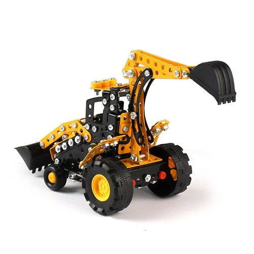 314 قطع حفار محمل gt البناء الذكي مجموعة 3d المعادن نموذج كيت diy هدية نموذج بناء ألعاب تعليمية