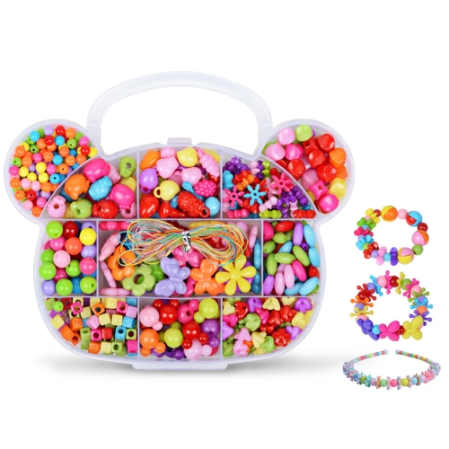 Girl Children Package Fun Toys for Handmade Beaded DIY Wear Beads Bracelet Necklace Amblyopia Training about 350 Pcs Style 1Toys &amp; Hobbies<br>Girl Children Package Fun Toys for Handmade Beaded DIY Wear Beads Bracelet Necklace Amblyopia Training about 350 Pcs Style 1<br>