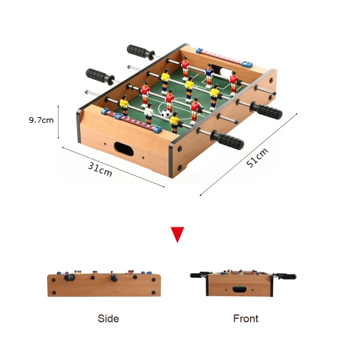 51 * 31 * 9.7cm HUANGGUAN TOYS HG235A Mini Foosball Table Soccer Football Table Family Use Game RoomToys &amp; Hobbies<br>51 * 31 * 9.7cm HUANGGUAN TOYS HG235A Mini Foosball Table Soccer Football Table Family Use Game Room<br>