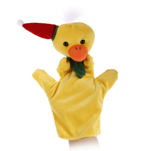 Animal Hand Puppet Cute Cartoon Christmas Duck Plush Toys Hand Plush Doll Child Christmas Gift ToysToys &amp; Hobbies<br>Animal Hand Puppet Cute Cartoon Christmas Duck Plush Toys Hand Plush Doll Child Christmas Gift Toys<br>