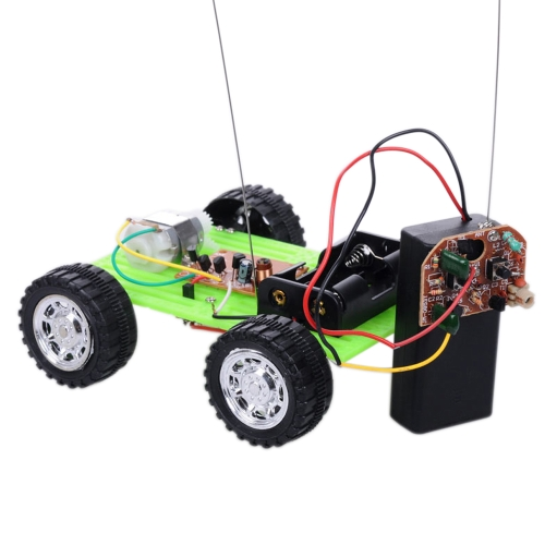 Green Color 1 Pcs Mini Remote DIY Car Kit Children Educational Puzzle Gadget Hobby Robot Cars Funny ToyToys &amp; Hobbies<br>Green Color 1 Pcs Mini Remote DIY Car Kit Children Educational Puzzle Gadget Hobby Robot Cars Funny Toy<br>