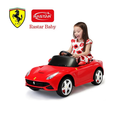 Rastar Kids 6V Electric Ride On Toy Car Ferrari F12 Four Wheel Vehicle Battery Powered Ride Parent Remote ControlToys &amp; Hobbies<br>Rastar Kids 6V Electric Ride On Toy Car Ferrari F12 Four Wheel Vehicle Battery Powered Ride Parent Remote Control<br>