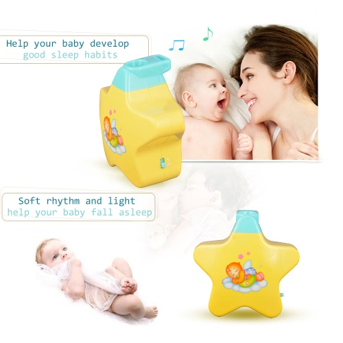 GOODWAY NO8661 Musical Projector Night Light Toddlers Sleep Soother Lamp Toys for Baby Child Bedroom Living RoomToys &amp; Hobbies<br>GOODWAY NO8661 Musical Projector Night Light Toddlers Sleep Soother Lamp Toys for Baby Child Bedroom Living Room<br>