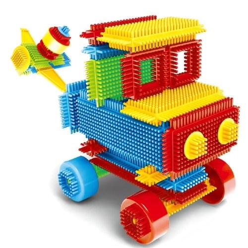 DIYビルディングブロック教育玩具レンガセット