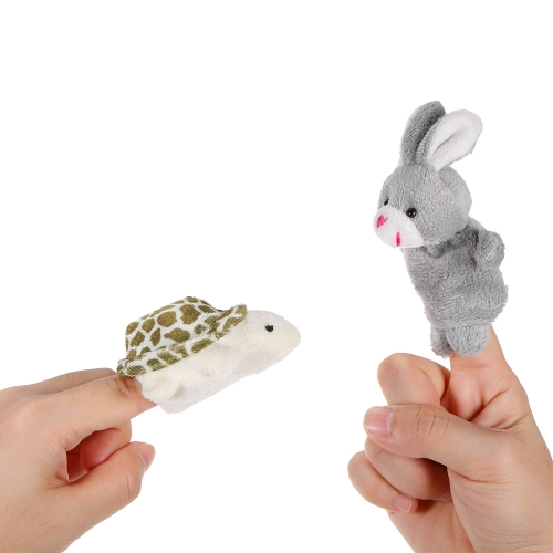 2pcs Animal Finger Puppet Cute Cartoon Plush Toys Finger Doll Child Baby Early Educational ToysToys &amp; Hobbies<br>2pcs Animal Finger Puppet Cute Cartoon Plush Toys Finger Doll Child Baby Early Educational Toys<br>