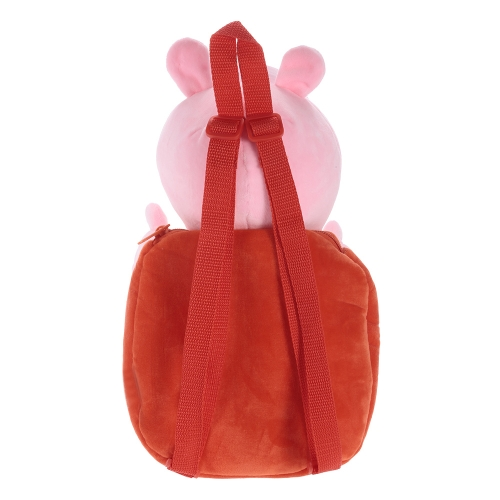 Original Brand Peppa Pig 44cm Peppa Kids Bag Backpack Stuffed Plush Toy Family Party Christmas New Year GiftToys &amp; Hobbies<br>Original Brand Peppa Pig 44cm Peppa Kids Bag Backpack Stuffed Plush Toy Family Party Christmas New Year Gift<br>