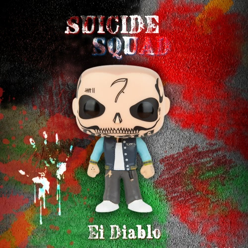 FUNKO POP Movie Suicide Squad Action Figure Vinyl Model Collection - Ei DiabloToys &amp; Hobbies<br>FUNKO POP Movie Suicide Squad Action Figure Vinyl Model Collection - Ei Diablo<br>