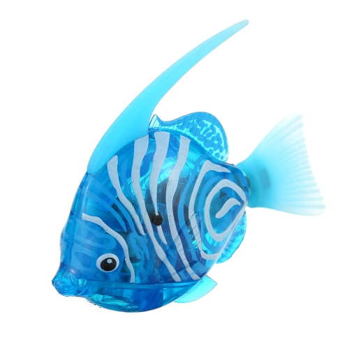 Fancy Toys Electronic Robot Shining Swimming Electric Fish Toy Children Kids Playing Water Toy Aquatic DecorToys &amp; Hobbies<br>Fancy Toys Electronic Robot Shining Swimming Electric Fish Toy Children Kids Playing Water Toy Aquatic Decor<br>