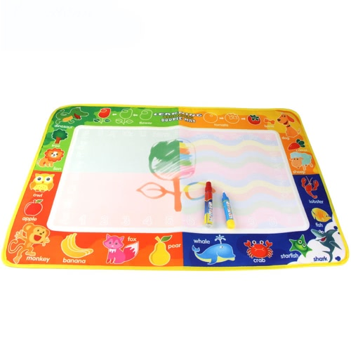 Aqua Doodle Water Drawing Mat Painting Travel Board with Magic Pen for Kids Art EducationToys &amp; Hobbies<br>Aqua Doodle Water Drawing Mat Painting Travel Board with Magic Pen for Kids Art Education<br>