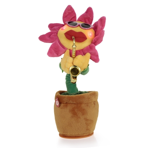 Singing and Dancing Flower Enchanting Sunflower with Saxophone Soft Plush Funny Creative Electric Toys Stuffed ToyToys &amp; Hobbies<br>Singing and Dancing Flower Enchanting Sunflower with Saxophone Soft Plush Funny Creative Electric Toys Stuffed Toy<br>