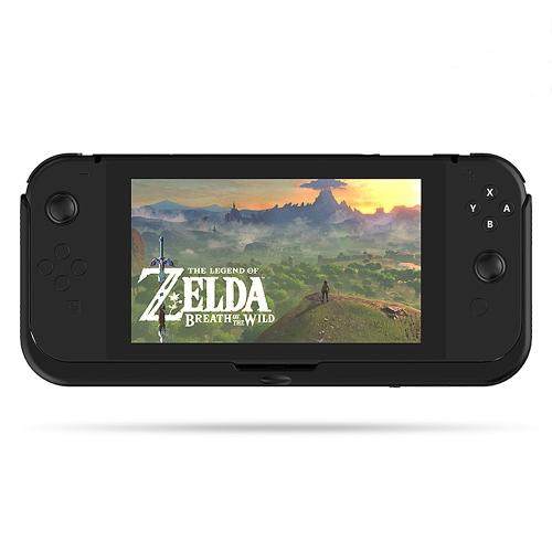 Banque de puissance de secours portatif 10000mAh de cas de chargeur de batterie avec la couverture de secousse pour le commutateur de Nintendo