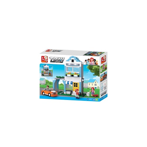 Sluban M38-B0572 305pcs Lemy &amp; Queenies Apartment Town Series Building Block Construction Toy for KidsToys &amp; Hobbies<br>Sluban M38-B0572 305pcs Lemy &amp; Queenies Apartment Town Series Building Block Construction Toy for Kids<br>