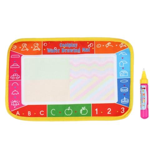 非毒性水図面マットボード赤ちゃんのための魔法のペンで落書きの絵と書き込み子供 25 * 16.5 CM