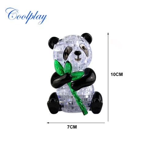 Coolplay 3D Crystal Puzzle Panda Model Cute DIY Building Toy Gift Gadget Crystal BlocksToys &amp; Hobbies<br>Coolplay 3D Crystal Puzzle Panda Model Cute DIY Building Toy Gift Gadget Crystal Blocks<br>