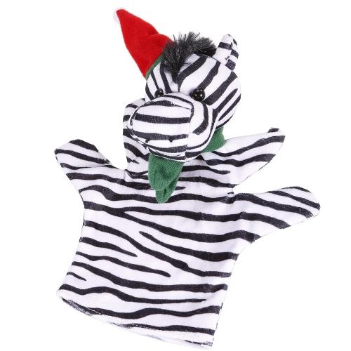 Animal Hand Puppet Cute Cartoon Christmas Zebra Plush Toys Hand Plush Doll Child Christmas Gift ToysToys &amp; Hobbies<br>Animal Hand Puppet Cute Cartoon Christmas Zebra Plush Toys Hand Plush Doll Child Christmas Gift Toys<br>