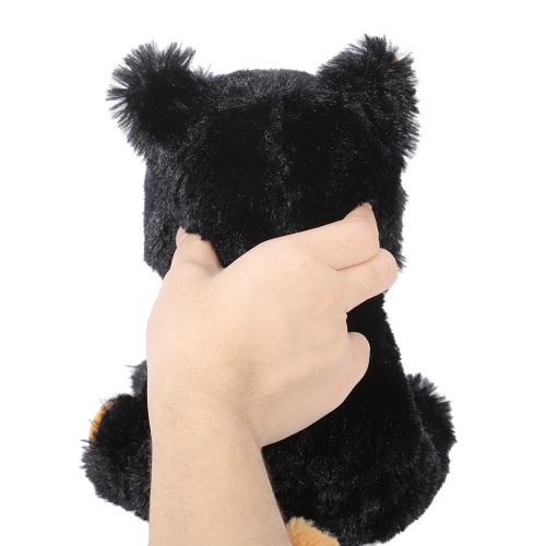 Feisty Pets Katy Cobweb Adorable Plush Stuffed Black Cat Turns Feisty with a SqueezeToys &amp; Hobbies<br>Feisty Pets Katy Cobweb Adorable Plush Stuffed Black Cat Turns Feisty with a Squeeze<br>
