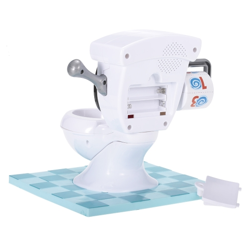Spray Water Toilet with Flush Sound Effects Tricky Sprinkler Game for Child and ParentsToys &amp; Hobbies<br>Spray Water Toilet with Flush Sound Effects Tricky Sprinkler Game for Child and Parents<br>