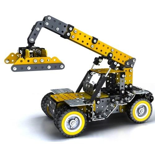 582PCS ECHLインテリジェントな建設セット3Dステンレス鋼モデルキットDIYのギフトモデルビルディング教育おもちゃ