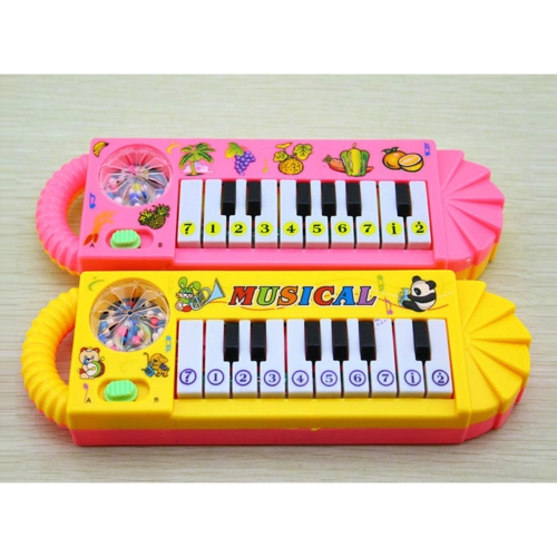 1 Pcs Cute Baby Kid Popular Piano Musical Instrument - Color RandomToys &amp; Hobbies<br>1 Pcs Cute Baby Kid Popular Piano Musical Instrument - Color Random<br>