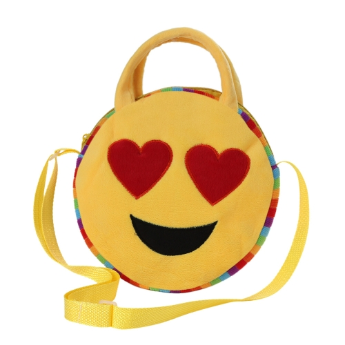 Cute Emoji Face Plush Backpack Emoticon Shoulder Bag Schoolbag Children Villus Toy Satchel Rucksack Crossbody Handbag for Kids GirToys &amp; Hobbies<br>Cute Emoji Face Plush Backpack Emoticon Shoulder Bag Schoolbag Children Villus Toy Satchel Rucksack Crossbody Handbag for Kids Gir<br>